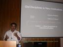 """Dr.Anup.K.Dhar speaking at the workshop """"Dialoguing across Disciplines"""" (23-25 June 2009)"""