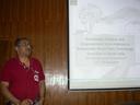 Professor H.N.Chanakya presents a talk at Centre for Contemporary Studies, IISc