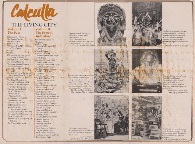 Calcutta: The Living City