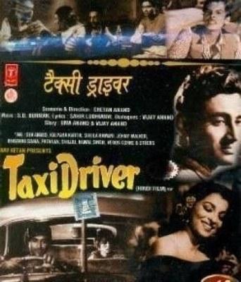 Taxi Driver (Chetan Anand, Hindi, 1954) poster