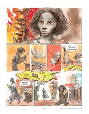 Vyasa: the Graphic Novel - Story: Sibaji Bandyopadhyay, Art: Sankha Banerjee 3