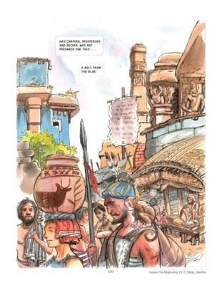 Vyasa: the Graphic Novel - Story: Sibaji Bandyopadhyay, Art: Sankha Banerjee 4