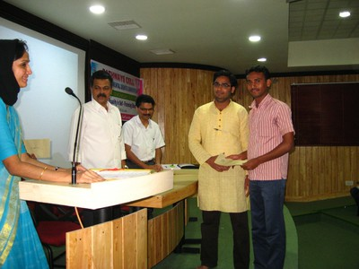 1st Prize Winners, Debate Competition (Farook College )