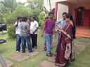 On the sets of  local film production