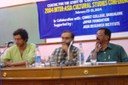 2004 INTER-ASIA CULTURAL STUDIES CONFERENCE: 'CULTURAL THEORY FOR ASIA: NEW PEDAGOGIC POSSIBILITIES': (in Pic) from left: Rehan Ansari (left) and J.S. Sadananda (right)