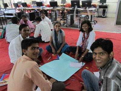 Group Activity, Pathways to Higher Education (Ahmednagar College)