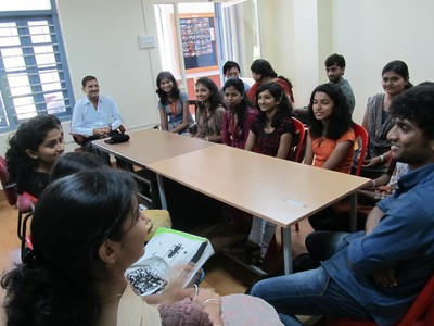 Group Discussion, St. Aloysius College, Mangalore