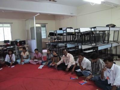 Group Disscussion, Ahmednagar College
