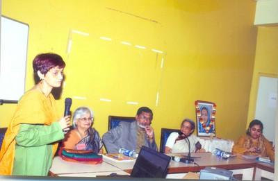 Sharmila Rege introduces the Centre (Gender Initiatives)
