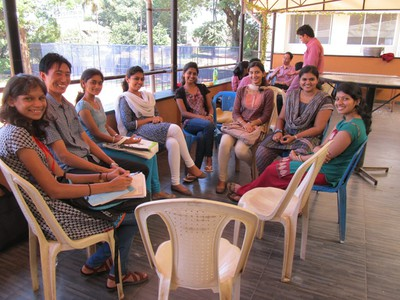 Students (Pathways to Higher Education) St. Aloysius College, Mangalore